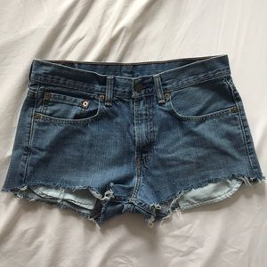 Levi's - Vintage cut off shorts
